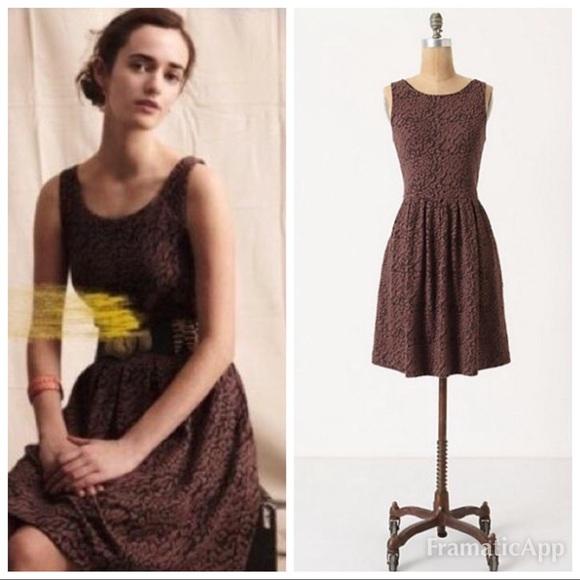 Anthropologie Dresses & Skirts - Anthropologie Deletta Leopard Print Dress